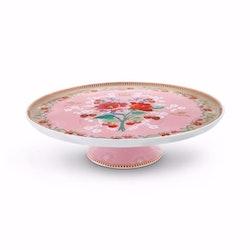 Tårtfat stort Rose rosa-PIP  STUDIO