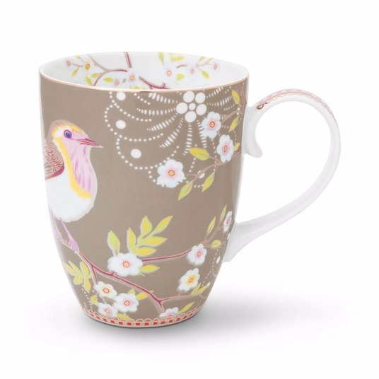 Mugg Early Bird khaki-PIP STUDIO