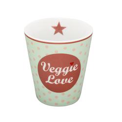 Mugg Veggie Love-HAPPY