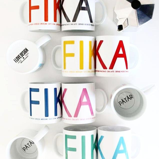 Mugg rosa-FIKA