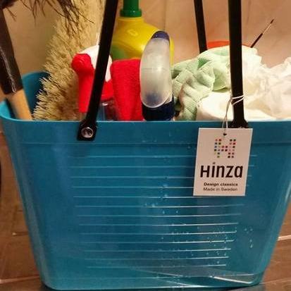 Väska liten turkos HINZA