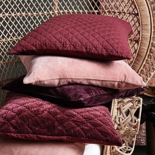 Kuddfodral rosa sammet-NORDAL - Anilla.se 294aede5266db