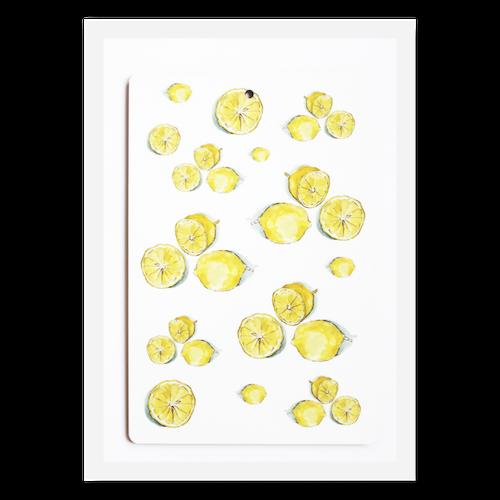 Skärbräda lemon-I LOVE DESIGN