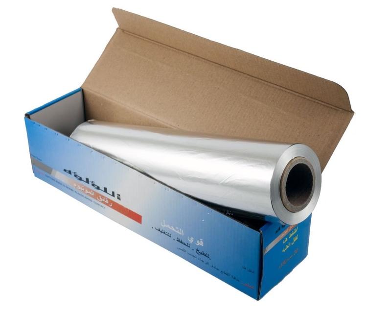 Aluminiumfolie 30 cm bred och 150 meter på rullen