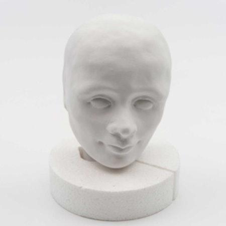 Gipshuvud Robin 9 cm