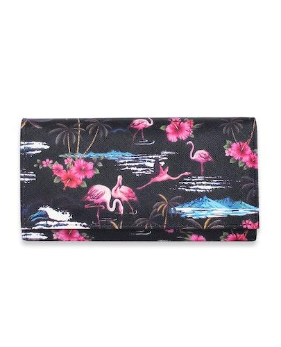 Liquorbrand plånbok Pink Flamingos