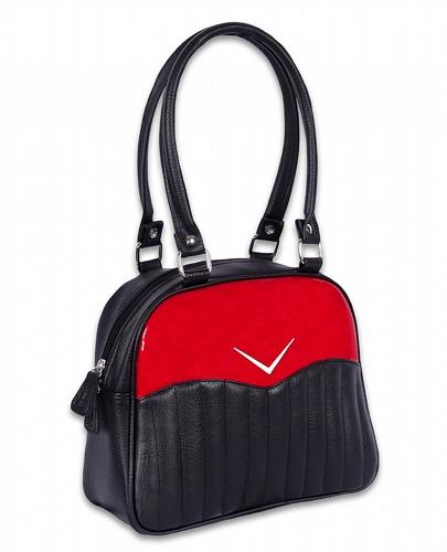 LiquorBrand väska Vega Bowler Red