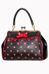Banned väska CRAZY LITTLE THING BAG Black/red