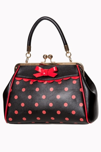 Banned väska CRAZY LITTLE THING BAG Black/red