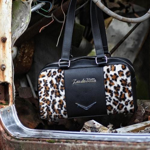 Lux De Ville väska leopard