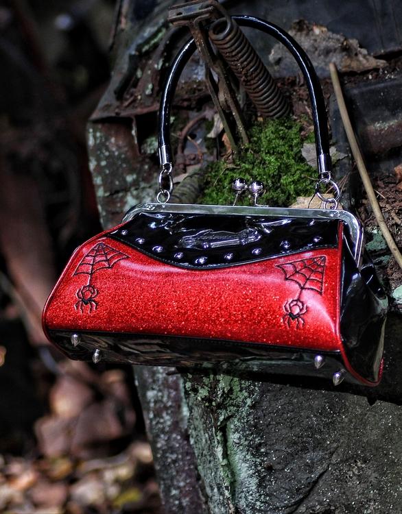 Sourpuss väska röd