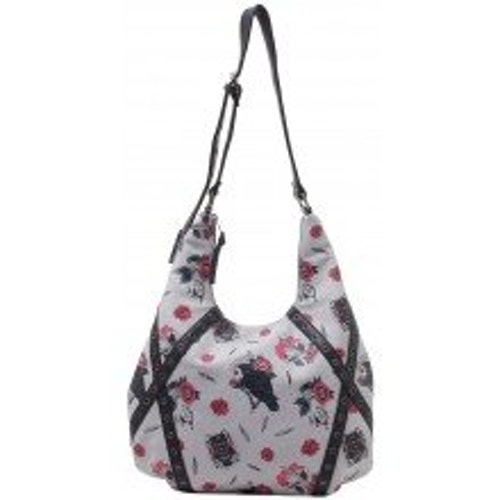 SOURPUSS POE HOBO PURSE