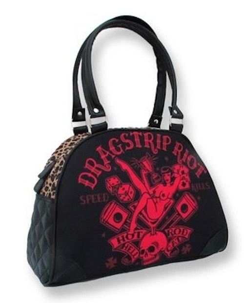 Clarabella väska Dragstripe Riot Hotrod Hellcat