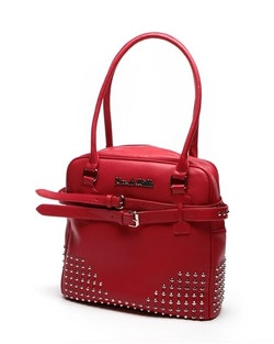 Lux De Ville Carly large tote Red