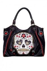 Banned väska Suger Skull Shoulder bag