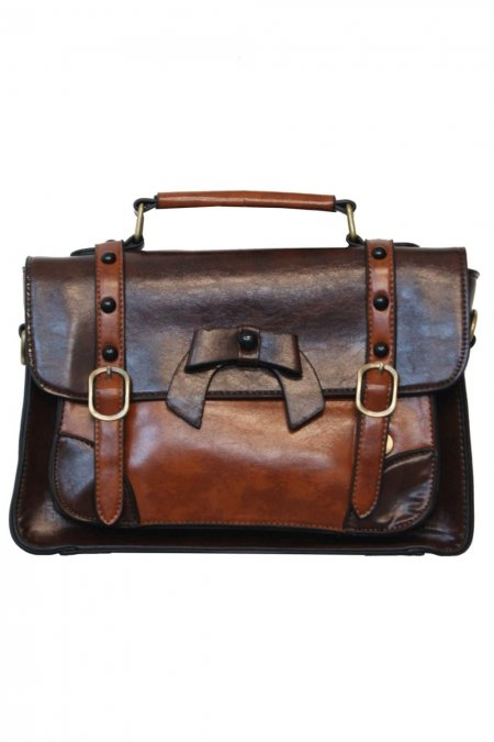 Banned väska Buckle With Bow retro