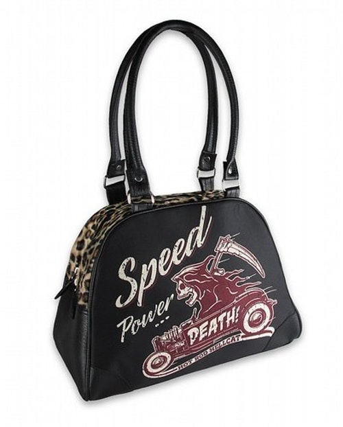 Hot Rod Hell Cat väska bowlingbag/reaper