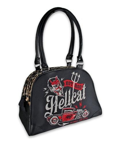 Hot Rod Hell Cat väska bowling bag/ to hell and back
