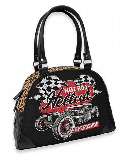 Hot Rod Hell Cat väska Speed shop