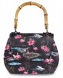 Liquorbrand väska Pink Flamingos