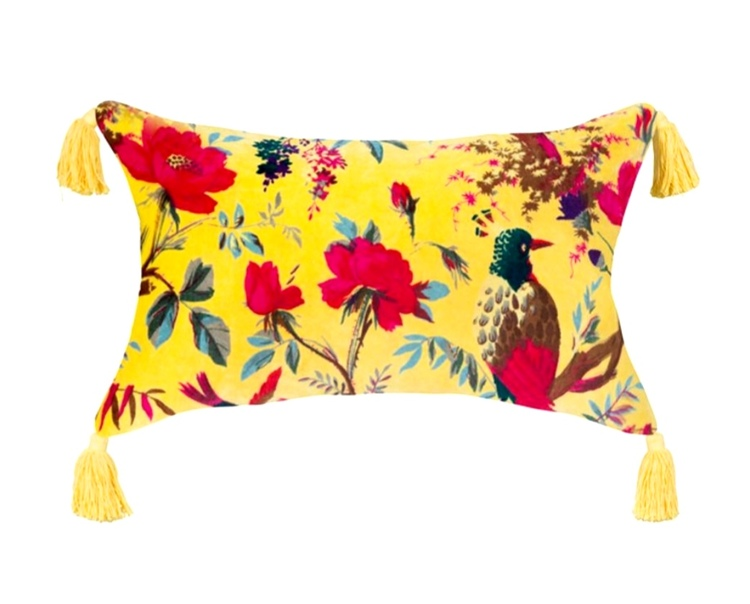 Kudde Paradisfågel gul