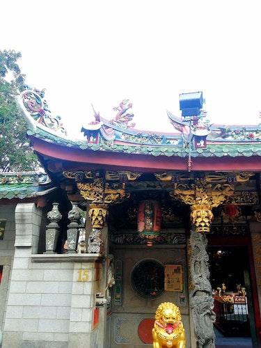 Print Kinesiskt tempel