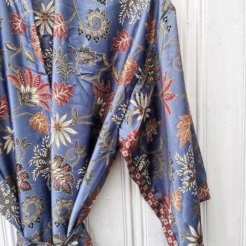 Kimono blågrå