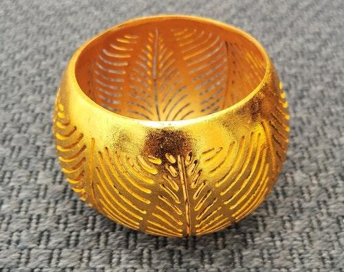 Kokoslykta guld