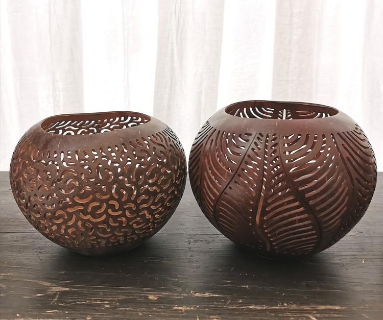 Kokoslykta brun