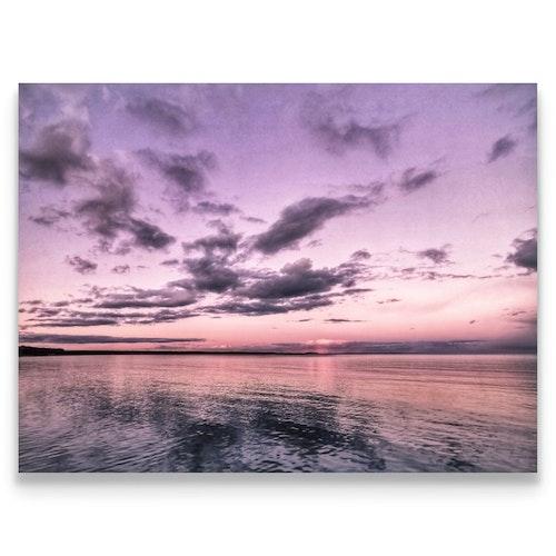 Print Rosa solnedgång