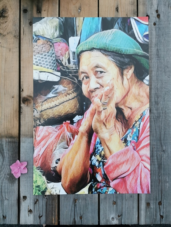 Affisch Bali Tacksam