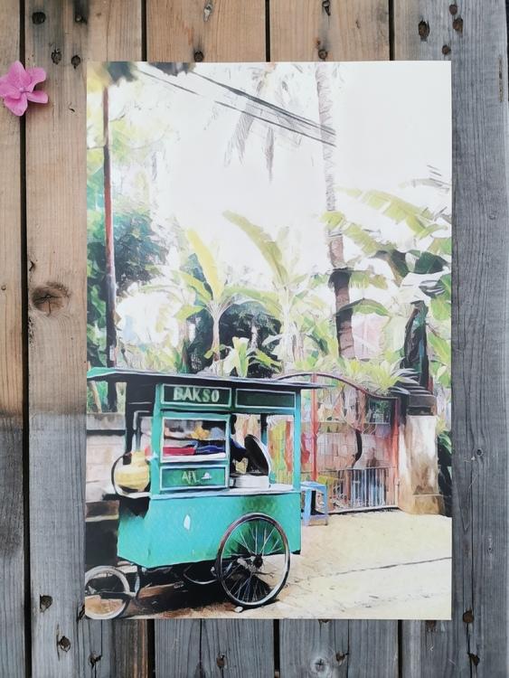 Affisch Bali Baksowagon