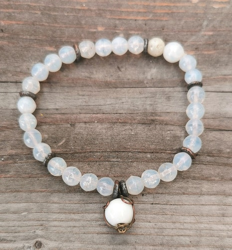 Armband Snow pearl