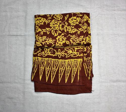 Sarong Strand brun/ljusgul
