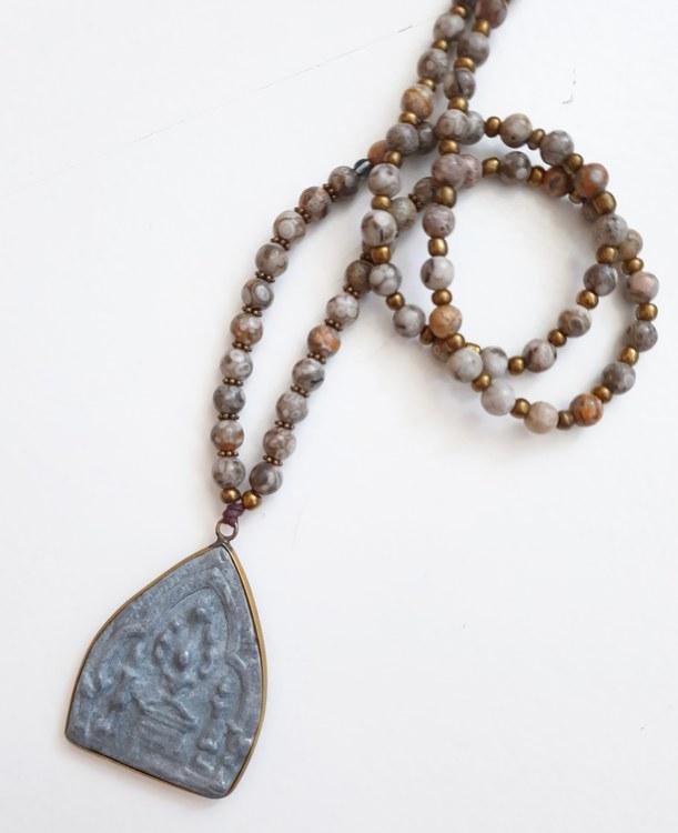 Maifan & buddha amulett