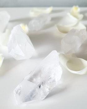 Rå Bergkristallspets ca 30-45 gram