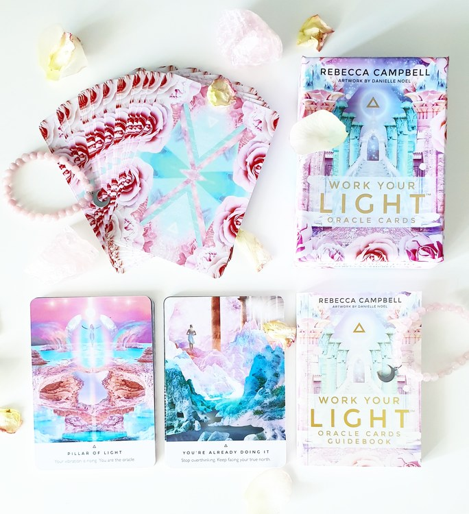 Work your light oracle cards, Rebecca Campbell