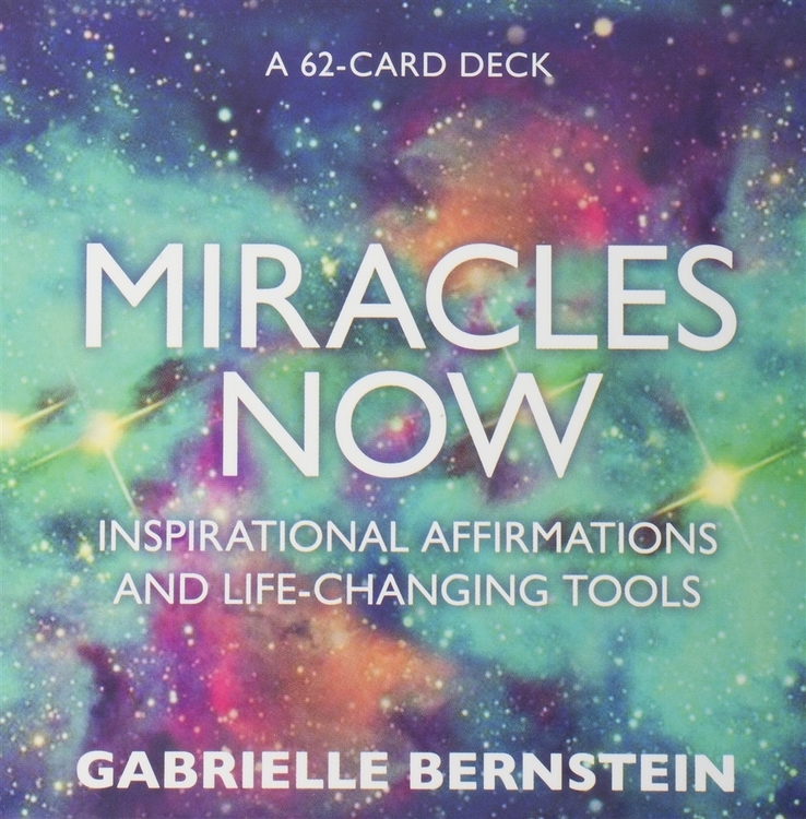 Miracles now cards, affirmationskort av Gabrielle Bernstein