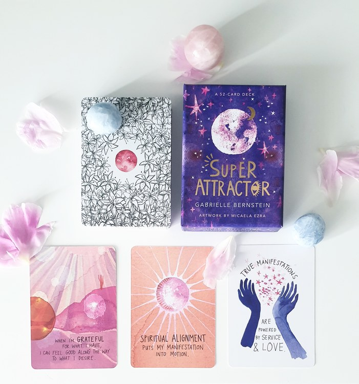 Super attractor card deck, Gabrielle Bernstein