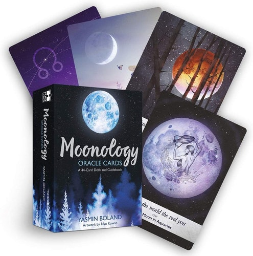 Moonology oracle cards, Yasmin Boland