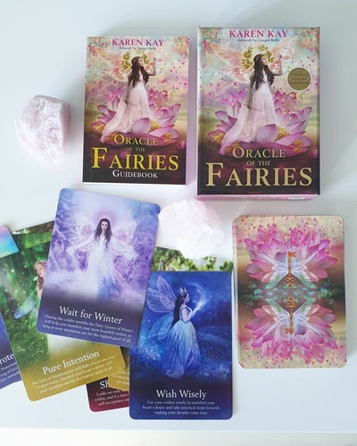 Oracle of the fairies, card deck & guide book. Karen Kay