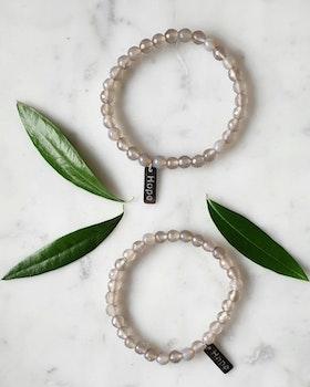 Armband med agat & hope
