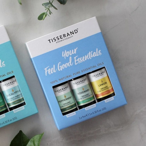 Your feel good essentials, 3 x Pure essential oils