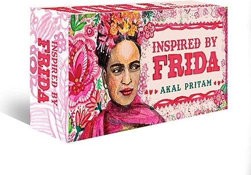 Inspired by Frida, mini inspiration cards