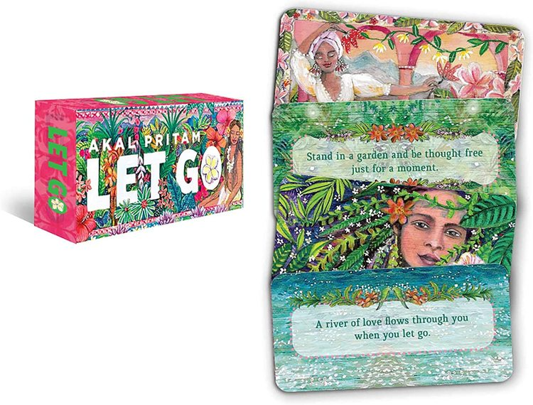 Let go, mini inspiration cards