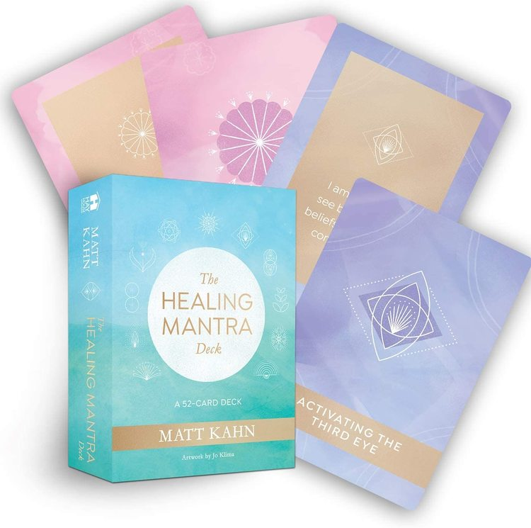 The healing mantra card deck