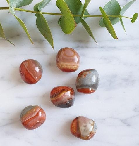 Polykromjaspis, cuddle stone