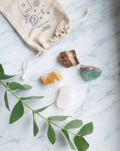 Calcite crystal kit