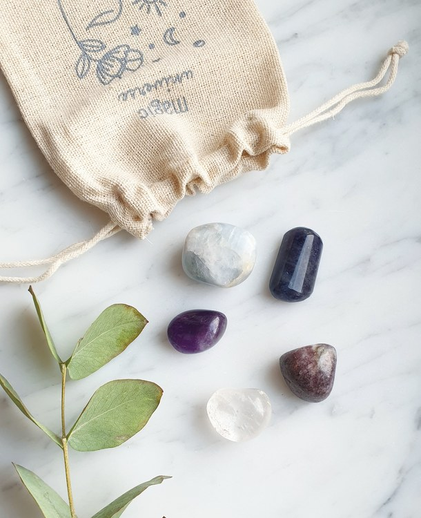Sleep like  a Goddess | Crystal kit