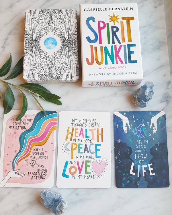 spirit junkie oracle cards, Gabrielle Bernstein